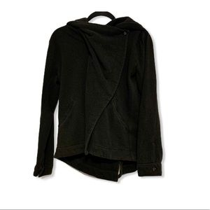 Hurley Active Zipper/Button Layered Sweater